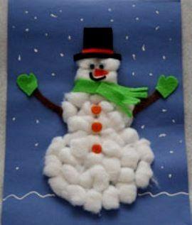 Поделки снеговиков - Сайт для мам малышей