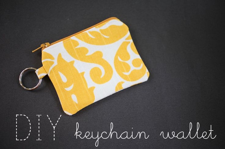 elm street life: DIY Keychain Wallet: Sewing Tutorial: Wallets, Street Life, Sewing Projects, Craft Tutorials, Keychain Wallet, Bags, Sewing Tutorials, Crafts