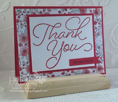 Debbie's Designs: Sale-A-Bration So Very Much & Inside The Lines DSP & New Video!