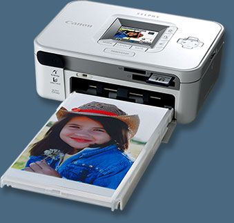 Canon SELPHY CP740 Compact Photo Printer - Small Photo Printer For Under $100