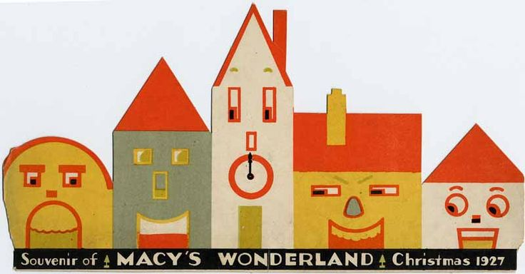 Children's souvenir, Macy's Wonderland, designed by Landy R. Hales, 1927