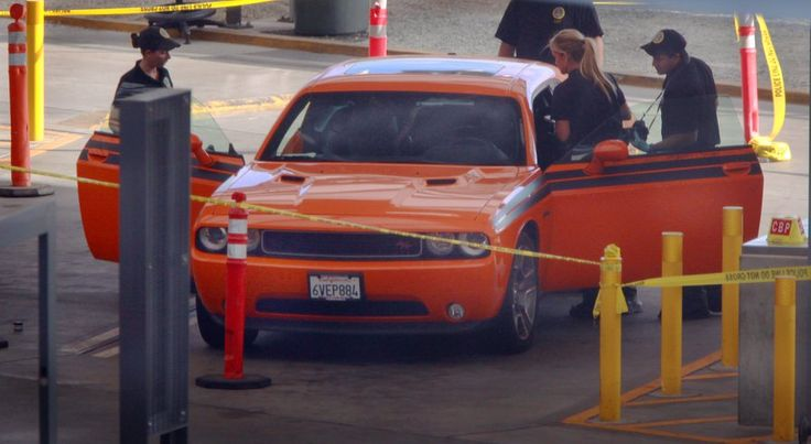 Two bodies were found in the trunk of a car at the San Ysidro border crossing.