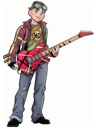 Cascão Jovem Guitarra