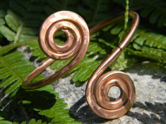 Keltisches Armband handgefertigt Kupfer
