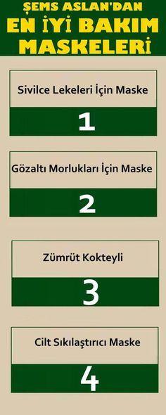 ŞEMS ASLAN'DAN EN İYİ BAKIM MASKELERİ