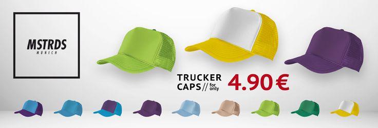 MSTRDS MasterDis Snapbacks 😉  ONLY 4,90 € 👉 http://www.hoodboyz.co.uk/masterdis/men/headgear/trucker-caps/