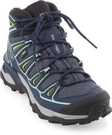 Salomon X Ultra Mid II GTX Hiking Boots. This boot gets EXCELLENT reviews.