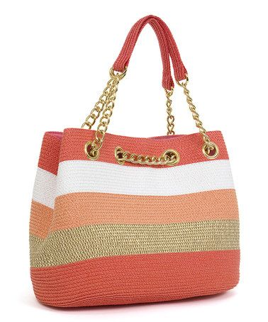 Look what I found on #zulily! Coral & Toast Chain Shoulder Bag #zulilyfinds