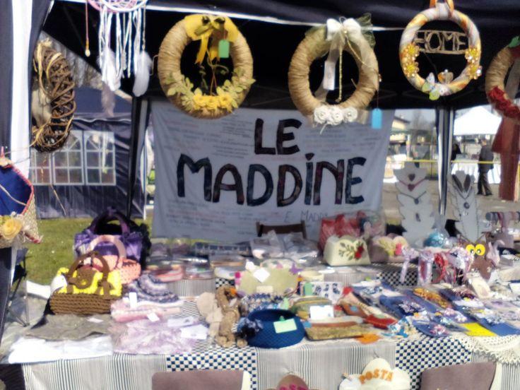 *** Le Maddine in tour al primo Mercatino Creativo Pasquale e Primaverile domenica 20/03/2016 *** #madeinfacebook #lemaddine