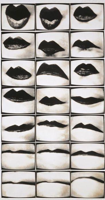 Friederike Pezold - Mundwerk, 1974/1975: 19741975, Inspiration, Friederik Pezold, Black White, Black Lips, 1974 1975, Friederik Petzold, Advanced Photography, Frederick Pezold