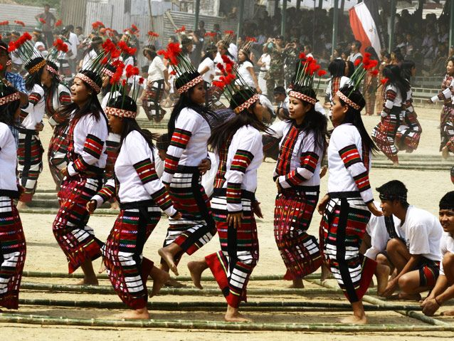 Thalfavang Kut, Mizoram's harvest festival is one dedicated to agriculture, is filled with dance and energy!