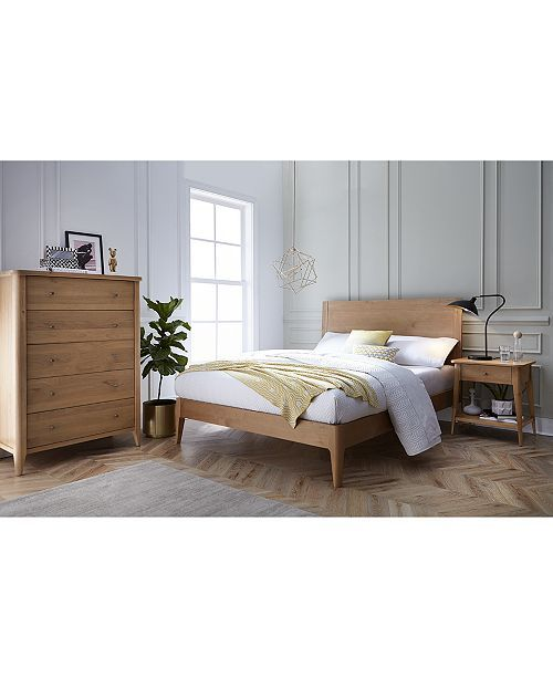 Martha Stewart Collection Brookline Bedroom Furniture, 3-Pc Set