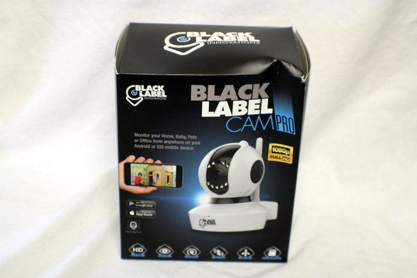 Black Label Pro Security Cam (1080P)