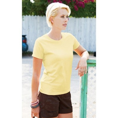 Womens Classic Ultra Cotton Fit Coloured Min 25 - A feminine shoulder, arm and sleeve pattern shirt with seamless double needle collar. Mix and match this product with G-20001 at the same price. #GildanPrintedTShirts #CottonShirt #WomensCottonTShirt #MensCottonTShirt #UnisexCottonTShirt #KidsCottonTShirt #LongSleeveCottonTShirt #VNeckCottonTShirt #CottonTankTop #CottonTeeShirt #FemaleTankTop