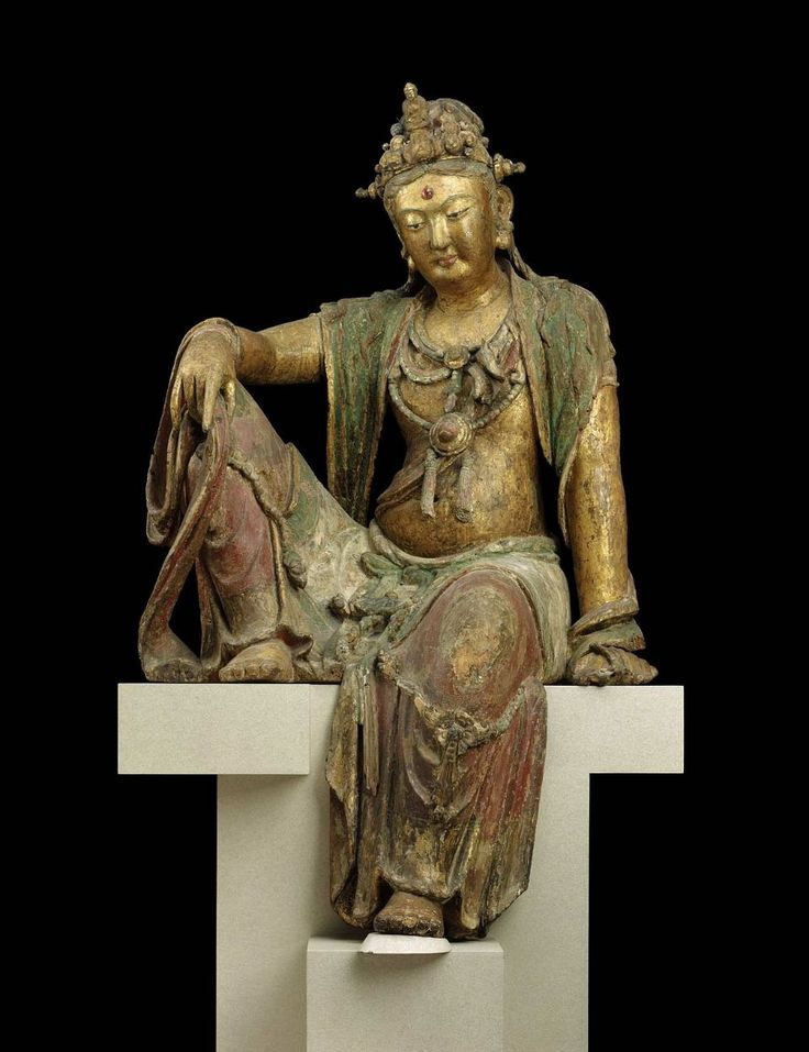 CHINE Guanyin, Bodhisattva of Compassion. Chinese, Jin dynasty, about 1200.