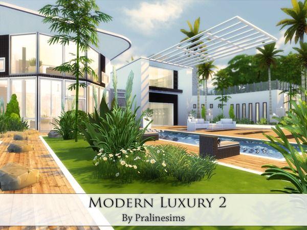 Sims 4 Maison De Luxe. Free Dcouvrez Les Plans De Cette Une Maison ...