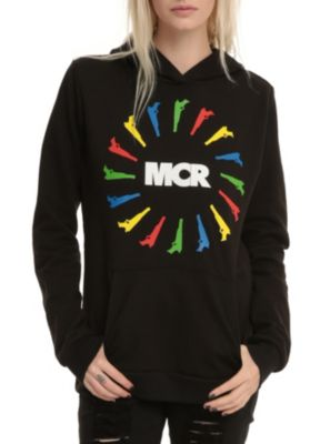 My Chemical Romance Guns Circle Girl Pullover Hoodie this is from when they were the fabulous kill joys