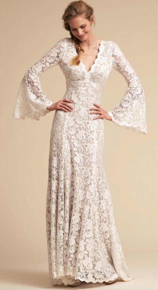Courtesy of BHLDN Wedding Dresses; Wedding dress idea.
