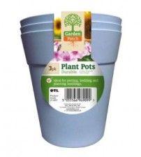 plant pots 3 pk