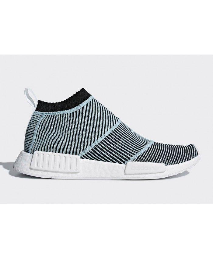 llevar a cabo Muy enojado Skalk  Adidas Parley NMD City Sock Blue Spirit Core Black Shoes | Adidas nmd, Adidas  nmd pink, Adidas primeknit