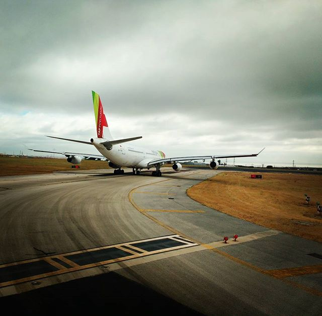 Number one for departure #flytap #tapportugal #lisbonairport #airbus340