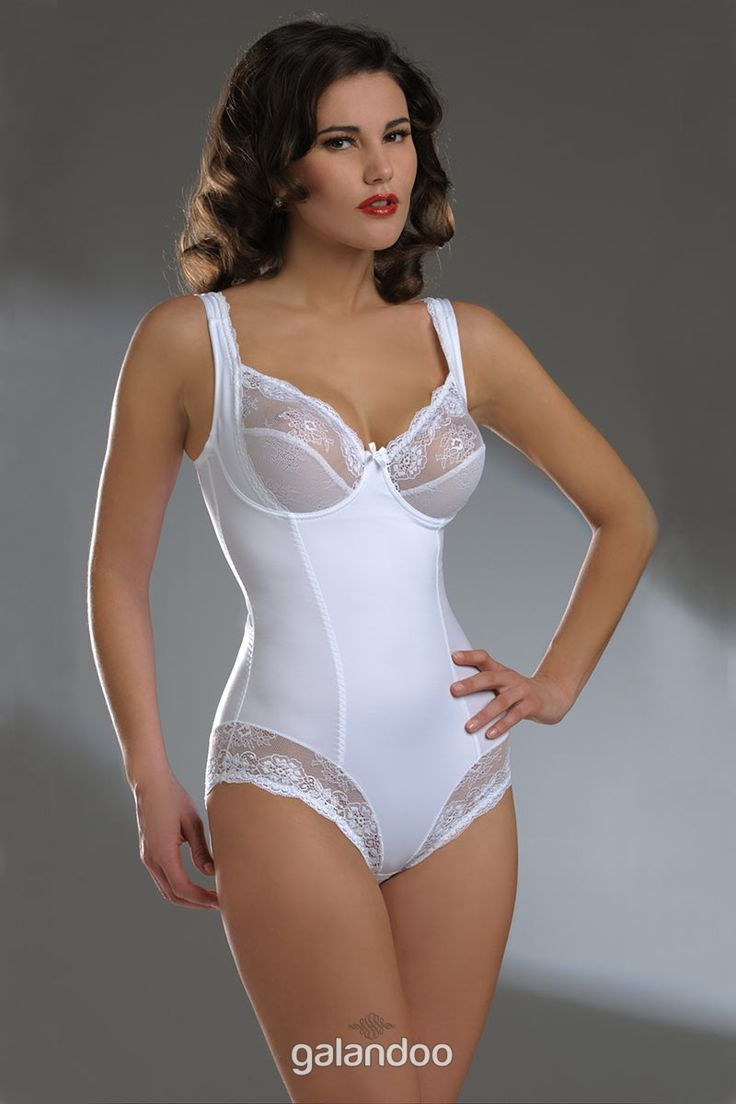 beautiful shapewear | Lingerie Bodysuit: Wired White ...
