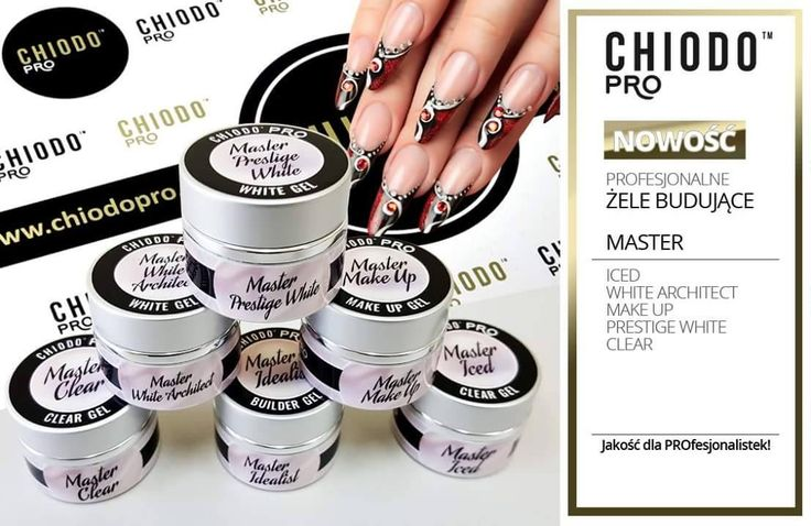 Nowe żele budujące od ChiodoPRO - #chiodopro #żele #budujące #paznokcie #nails #manicure #stylizacja #paznokci