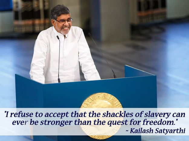 The 13 Greatest Quotes From Malala Yousafzai And Kailash Satyarthi's Nobel Peace Prize Ceremony