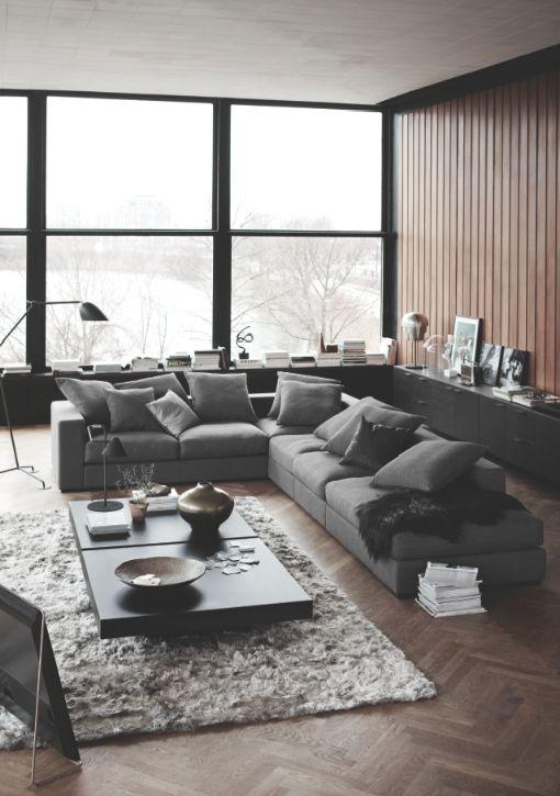Cenova sofa, classy and super confortable, urban interior design from BoConcept