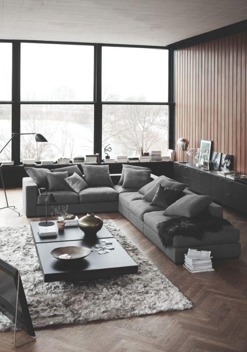 Cenova sofa, classy and super confortable, urban interior design from BoConcept