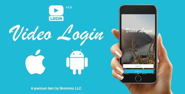 Video Login - App for iOS and Android - Price $8