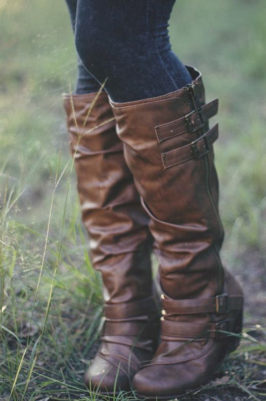 leather boots for fall
