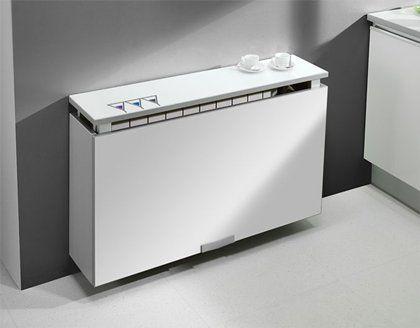#cocinas Mesa de cocina modelo radiador cerrada