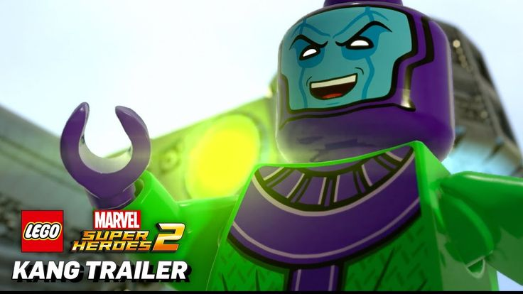 [LEGO Marvel Super Heroes 2] [Video] Official Kang the Conqueror Game Trailer #Playstation4 #PS4 #Sony #videogames #playstation #gamer #games #gaming