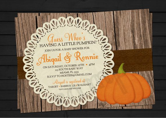 Rustic Fall Thanksgiving Baby Shower Little by ShesTutuCuteBtq, $11.75