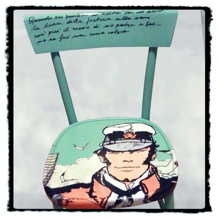 Oltre 25 idee originali per sedie decorate su pinterest for Sedie decorate a mano