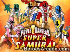 Play Power Rangers Samurai games online