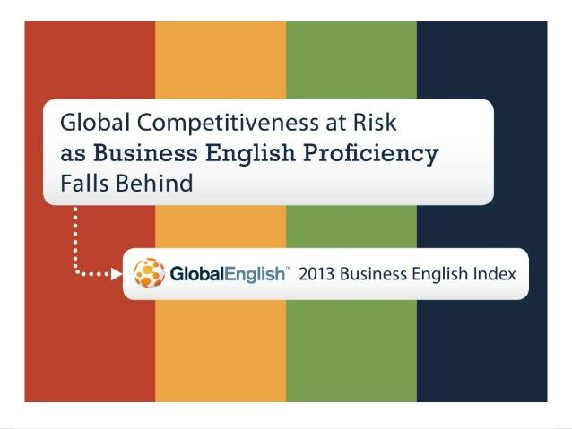 With a growing number of companies operating in as many as 20 countries with different native tongues, the majority of the world's business conversations now take place between non-native English speakers—in English. This standardization of English as the de facto language of business has opened up incredible opportunities, but most businesses face a huge skills gap.