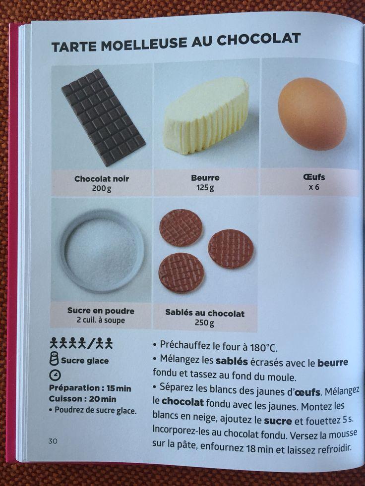 Tarte moelleuse au chocolat | Recette de J.F. MALLET