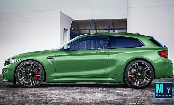 BMW M2 Shooting Brake - ... Es handelt sich nur um Photoshop-Spielereien. Erkenntnisse, ob oder dass BMW solch ein Modell plant, liegen autozeitung.de nicht vor. Allerdings hätte ein Shooting Brake auf Basis des BMW M2 viele Vorteile: Es vereint die klass