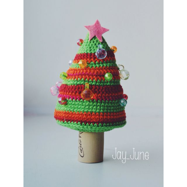 Crocheted New Year tree | Cristmas tree | Crocheting | DIY | Handmade | Amigurumi