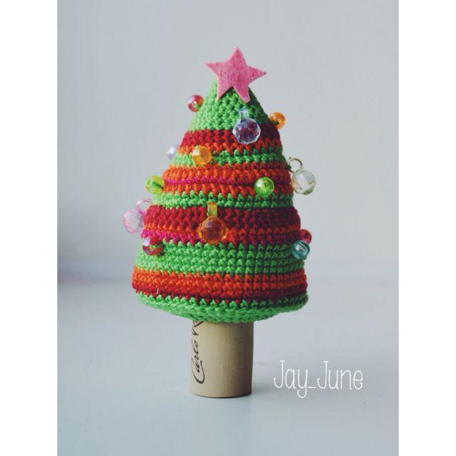 Crocheted New Year tree | Cristmas tree | Crocheting | DIY | Handmade | Amigurumi