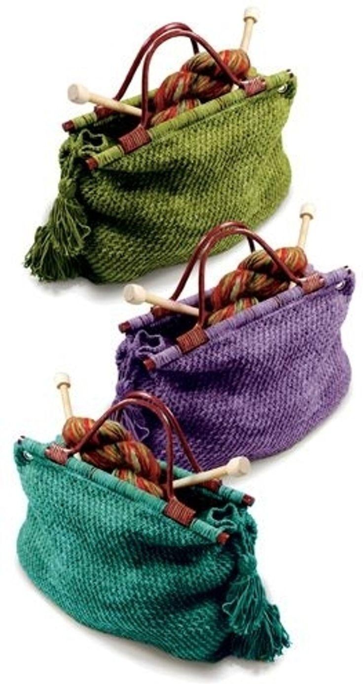 9. sac #tricot - A vos aiguilles prêt ? 30 en tricot ou au #Crochet, projets pour ce #mois-ci... → DIY