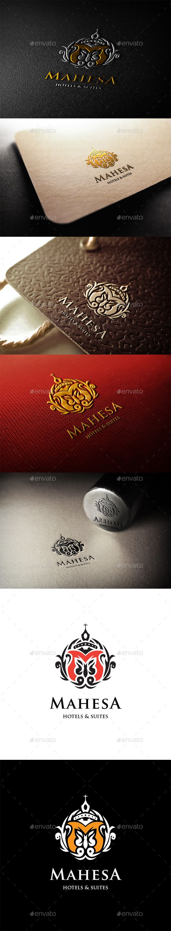 Mahesa Hotels Logo Template #design Download: http://graphicriver.net/item/mahesa-hotels-logo/11301561?ref=ksioks
