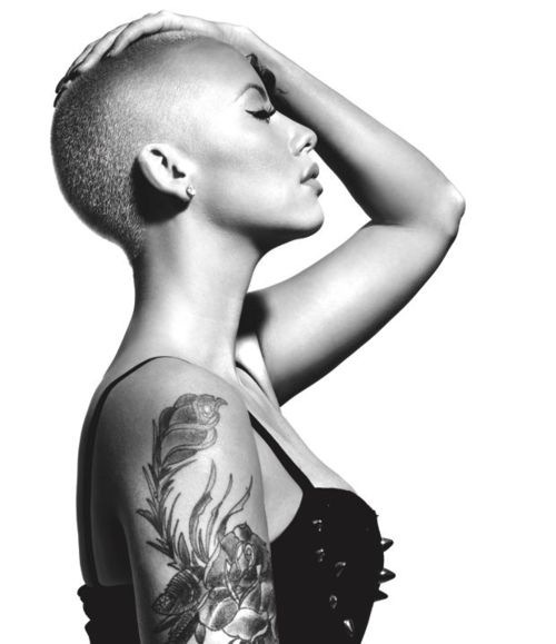 what if every girl looks this sexy with a shaved head?