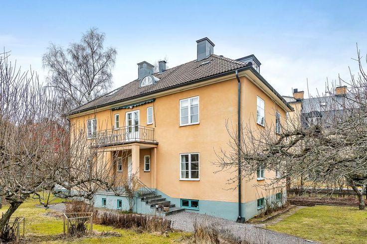 Lövgatan 26 Råsunda, Solna Built 1924