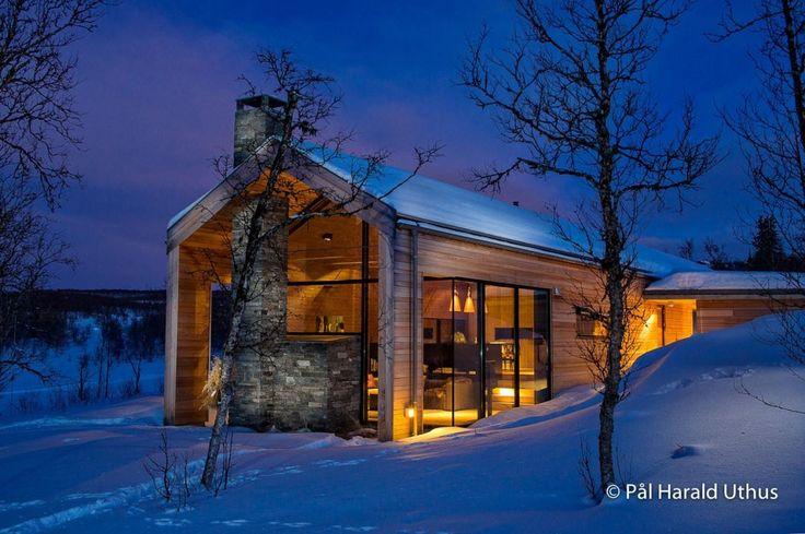KIKUT - Arkitekttegnet høyfjellsperle - beliggende med en mektig utsikt mot fjellheimen og Hallingskarvet