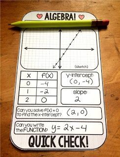Hands-down, Algebra is the best math. I know some Geometry teachers will disagree, and my own Algebra 2 heart aches a little with this confession. Algebra is the first time students are introduced to 2 variable equations. In this post I will highlight activities for teaching and reviewing linear equations.