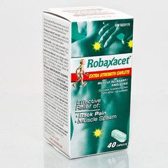 Robaxacet Extra Strength Muscle Relaxant & Analgesic 40 Cap