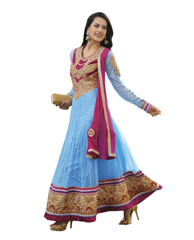 Side view of Turquoise Embroidered Net Semi Stitched Floor Length Anarkalis Salwar Suit  #DesignerSlawarkameez, #MagentaSalwarKameez #WeddingSalwarKameez, #NetFabricSalwarkameez, #EmbroideredWorkSalwarKameez #EmbroidedSalwarKameez  #WeddingDress #PartyWearDress #AnarkaliSalwarkameez #AnarkaliDress #AnarKaliSuit #DesignerAnarkali #BridalSalwarKameez #SalwarKameezWithDupatta #GreenSalwarKameez #GreenSalwarSuits #GreenAnarkaliSuits #CaualAnarkaliDrees #CasualSalwarKameez